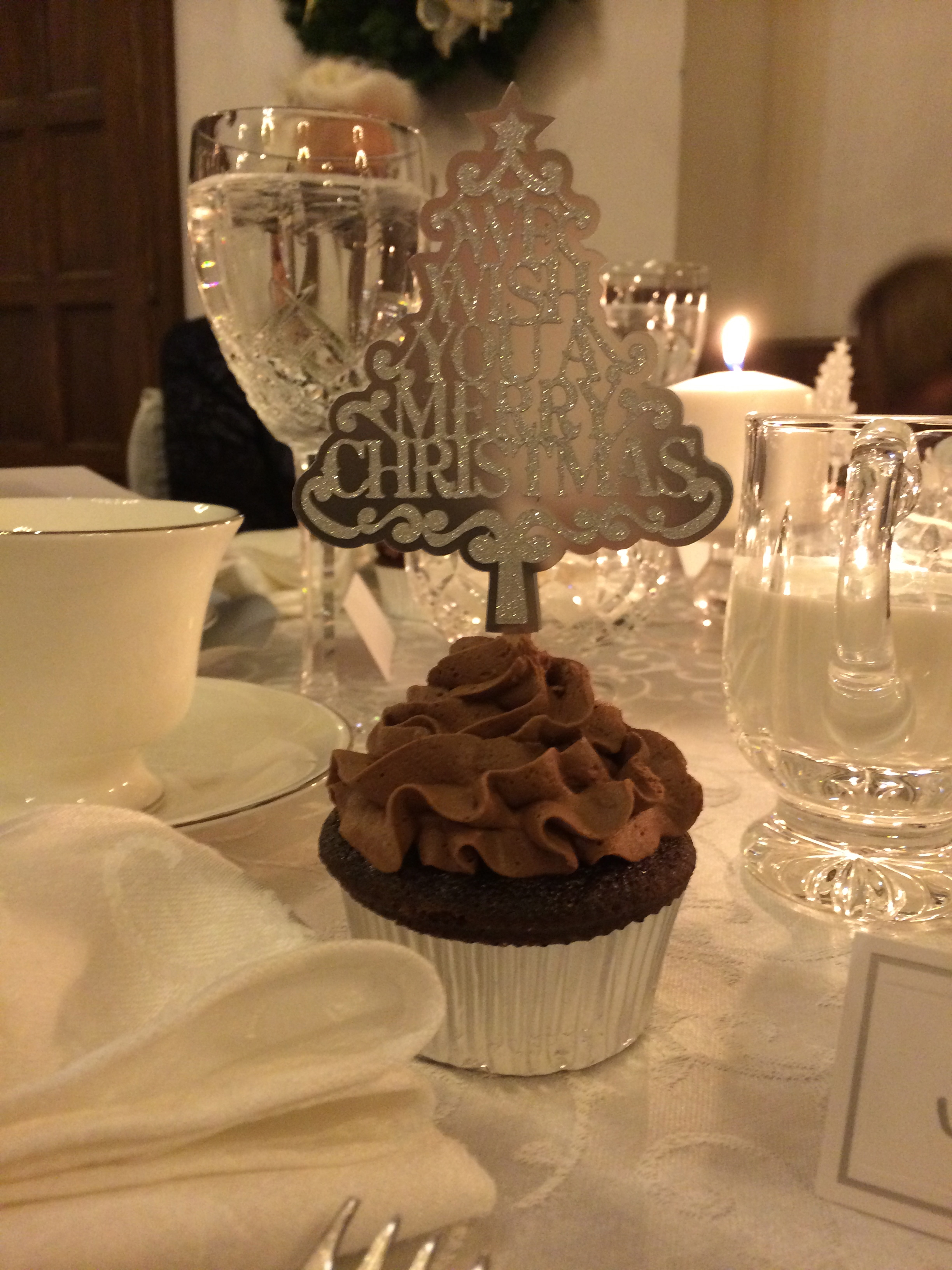 Chocolate-Orange Cream Cupcake with Chocolate Grand Marnier frosting ...