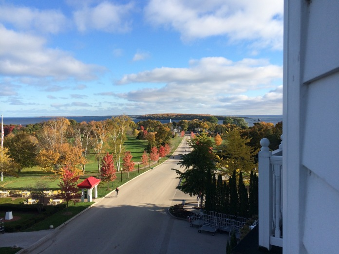 Early morning on Mackinac Island