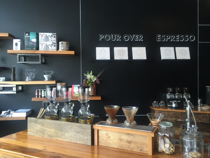 Rowster - another hip, minimalist coffee shop. It's what we do.